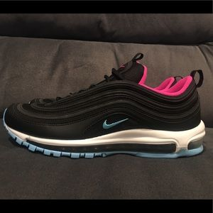 Nike Air Max 97 Miami Vice Black Running Size 11